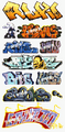 Blair Line HO Scale Graffiti Decals Mega Set #2