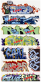 Blair Line HO Scale Graffiti Decals Mega Set #12
