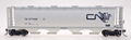 Intermountain HO Scale Cylindrical Covered Hopper CN Continent CN 377623