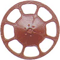 Kadee HO Scale Modern Brake Wheels 8 pack Red Oxide #2035