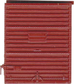Kadee HO Scale 8 ft Door Youngstown High Tackboard Red Oxide #2215