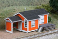 AMB LaserKits HO Scale Cullen Station Virginian RR Kit #180