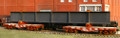 AMB LaserKits HO Scale Large Structural Beam w/ blocking and Tie downs Kit #211