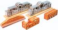 Chooch Multi Scale (HO/N) 10 ton Drive Shaft & Pulley Loads 5 pieces #7283