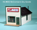 AMB LaserKits N Scale McCormac's Dry Goods Kit # 693