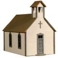 AMB LaserKits HO Scale Crossroads Church Kit #791