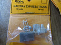 Wheel Works N Scale Vintage Railway Express  Truck Kit