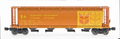 Intermountain Z Scale Cylindrical Hopper Trough Hatch Canadian Wheat Board Govt Car CPWX  605683
