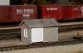 PikeStuff HO Scale Tool and Handcar Shed Kit