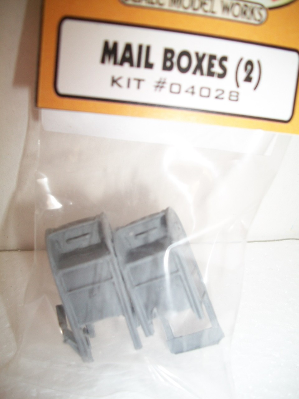 O Scale kit Mail Boxes 2-pk Bar Mills #4028