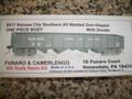 Funaro  HO Scale Kit  #6511  Kansas City Southern All Welded Hopper Gondola KIT One Piece Body