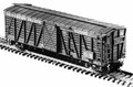 Central Valley HO Scale 40' Stock Car Kit #1001