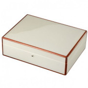 White Stingray Wooden Jewelry Box