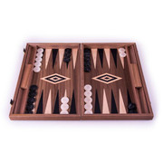 American Walnut Backgammon Set