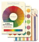 Color Wheel- set of 3 Small Notebooks