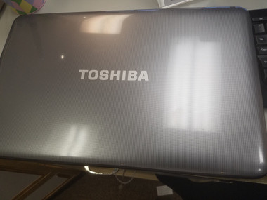 Toshiba used laptop.
