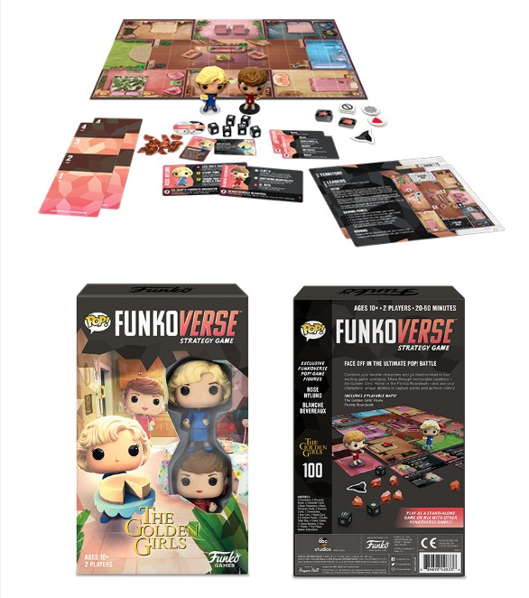 Funkoverse Golden Girls 100 Strategy Game