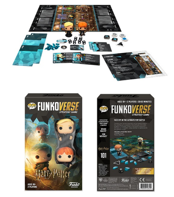 Funkoverse Harry Potter 101 Strategy Game