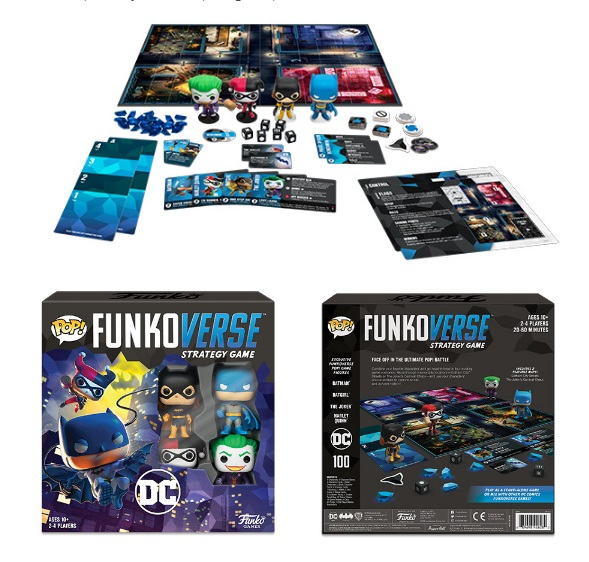 Funkoverse DC 101 Strategy Game