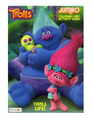 Trolls Jumbo 96 pg. Coloring And Activity Book - Troll Life!