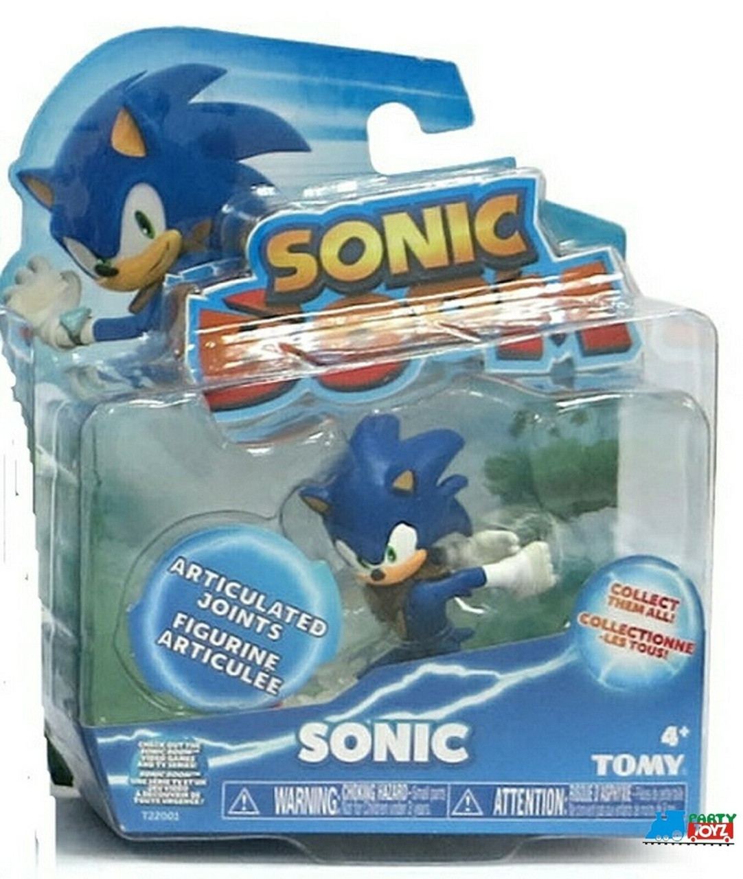 Sonic Boom 3 Inch Plastic Figure Toy - Sonic