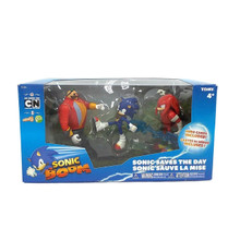 "Sonic Boom 3 Pack Figures -""Sonic Saves The Day"""