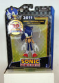 "Sonic The Hedgehog 20Th Anniversary 5"" Modern Sonic 2011 Plastic Action Figure"