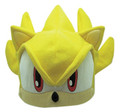 Sonic The Hedgehog Super Sonic Yellow Fleece Beanie Hoodie Cap