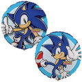 "Sonic The Hedgehog 18"" Round Metallic Mylar Balloon [ One Balloon ]"