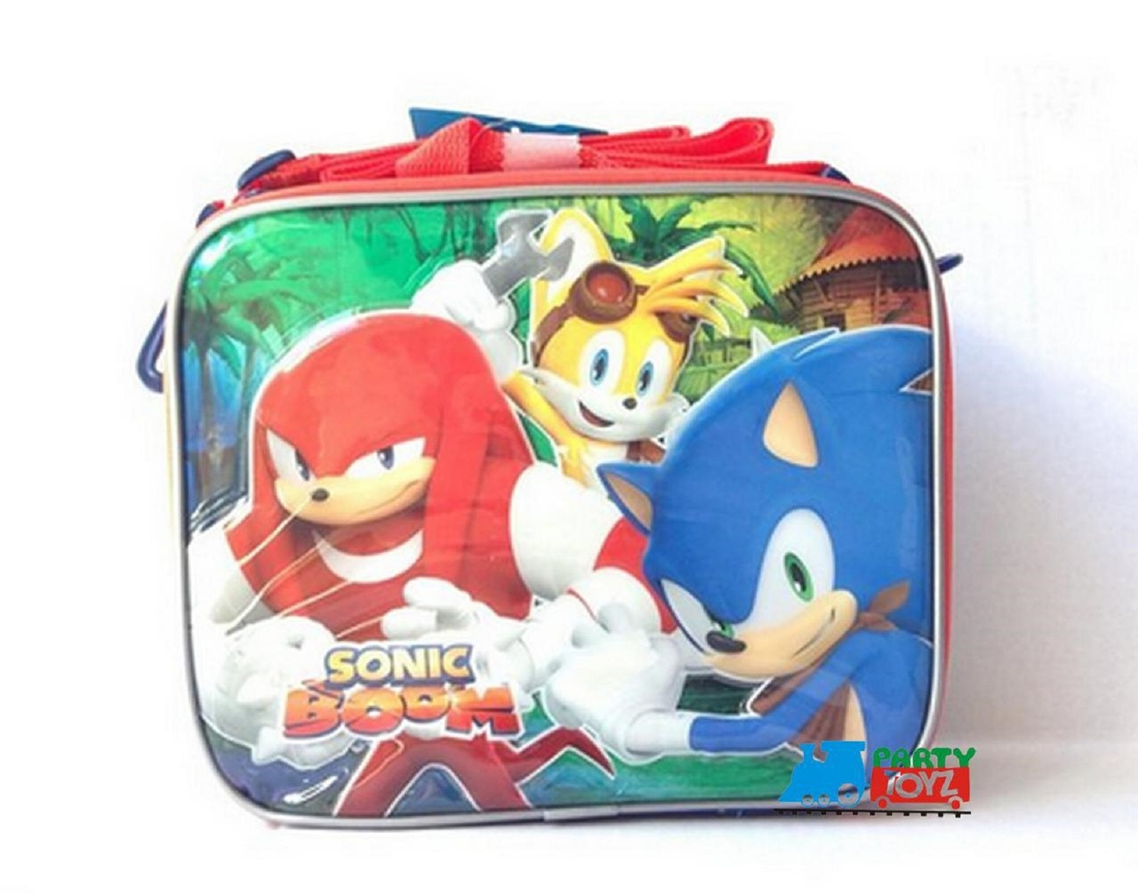 Sonic Boom Lunch Box - Knuckles And Tails