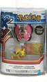 "Pokemon 2-Pk Small 2"" Toy Plastic Action Figure - Pikachu vs. Vivillon"