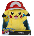 Pokemon Pikachu with Ash Cap 10 Inch Plush
