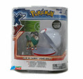 "Pokemon 2"" Plastic Toy Action Figure Clip n Carry GoGoat Premier Ball"