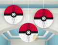 Pokemon Honeycomb Paper Decorations