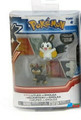 "Pokemon 2-Pk Small 2"" Toy Plastic Action Figure - Litleo vs. Emolga"