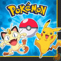 Pokemon Large Luncheon Napkins  - Pikachu and Friends