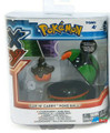 "Pokemon 2"" Plastic Toy Action Figure Clip n Carry - Pumpkaboo and Duskball"