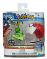 Pokemon Quick Attackers Figure and Pokeball - Chespin
