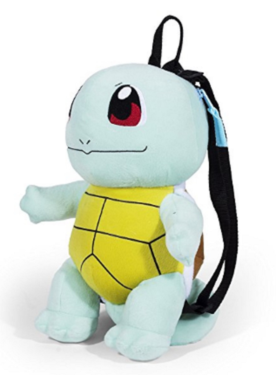 Pokemon Squirtle 14 Inch Plush Backpack