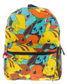 Pokemon 16 Inch Large Backpack -Pikachu, Squirtle, Bulbasaur, Charmander, Eevee