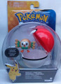 Pokemon Rowlet with Poke Ball Collectible Action Figure