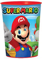 Super Mario Bros. Plastic 16 Ounce Reusable Keepsake Favor Cup (1 Cup)