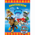 Paw Patrol Pack of 8 Invitations
