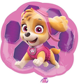 Paw Patrol Foil Helium Metallic Balloon - Skye And Everest