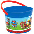 Paw Patrol Plastic Favor Bucket Container ( 1pc )