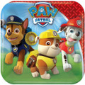 Paw Patrol 7 Inch Small Dessert Party Cake Square Plates