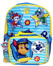 """Paw Patrol 16 Inch Large Backpack With Lunch Box """"We Saved The Day!"""""""