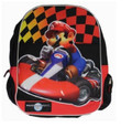 "Mario Brothers Bros Large 16"" Backpack Back Pack Bag - Mariokart"