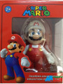 "Super Mario Brothers 5"" Plastic Toy Action Figure - Fire Mario"