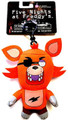 Five Nights At Freddy's 5 Inch Collector Plush Clip Toy Figure - Foxy